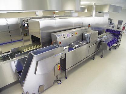 Le tri automatique des couverts en laverie restauration for Restauration collective emploi