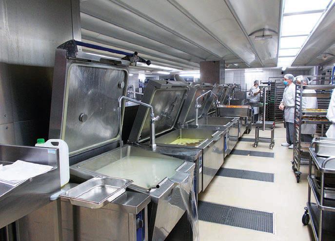 Un nouvel espace de cuisson au centre hospitalier de saint for Restauration hopital emploi