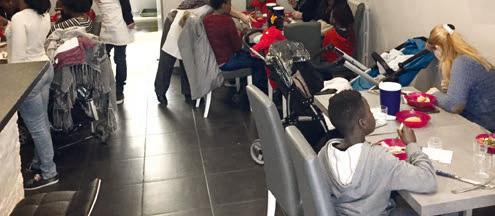 Le don alimentaire du CH Le Mans et le restaurant solidaire au coeur de la ville