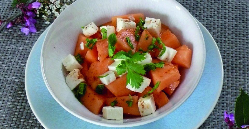 Melon à la grecque