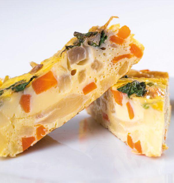 Frittata aux légumes d'hiver Photo : ©Interfel